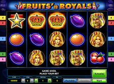 Fruits'n Royals Gratis spielen