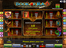 Book of Ra 6 Gratis spielen